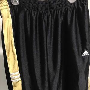 ADIDAS Basketball Shorts (Black/Gold) [XL]
